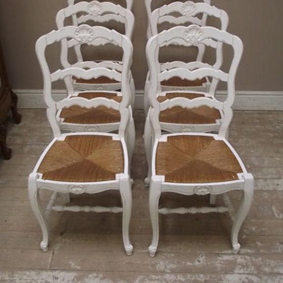 Gruppo sedie provenzali