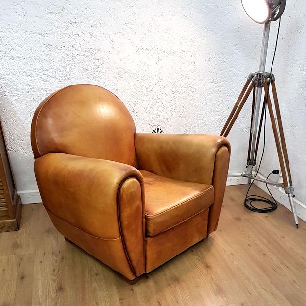 Poltrona Club Vintage.Poltrona Art Deco Francese