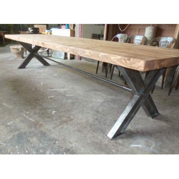 Tavolo industriale for Mobili industriali vintage