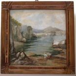 Cinque marine dipinte