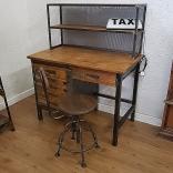 Scrittoio Industriale Vintage