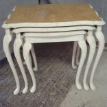 Tavolino a nido shabby