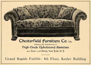 Storia ed Informazioni utili sul divano chesterfield