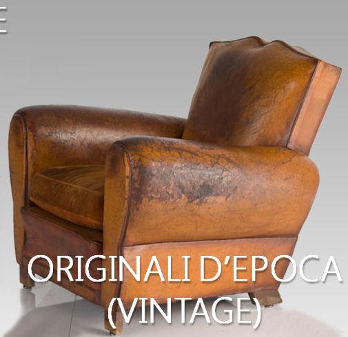 Poltrona Francese Vintage.Poltrone Club Francesi